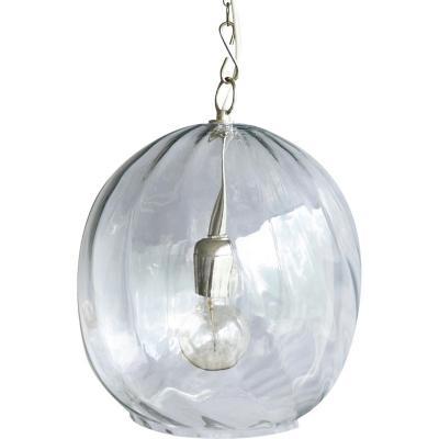 Lámpara de colgar Vidrio Bhopal Clear Transparente