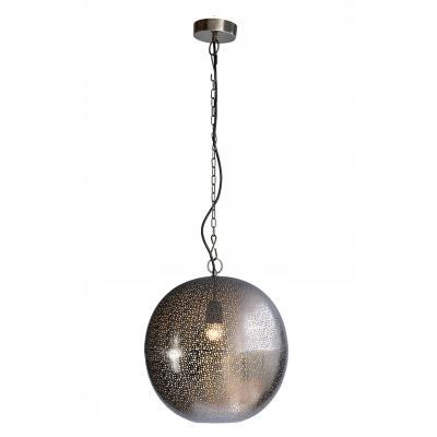 Lámpara de colgar Metal Orissa Gris