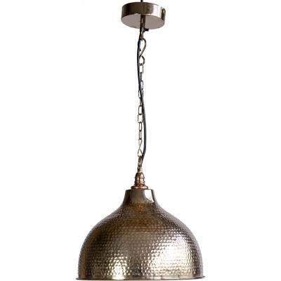 Lámpara de colgar Metal Madurai Gris