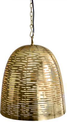 Lámpara de colgar Metal Akole Dorado