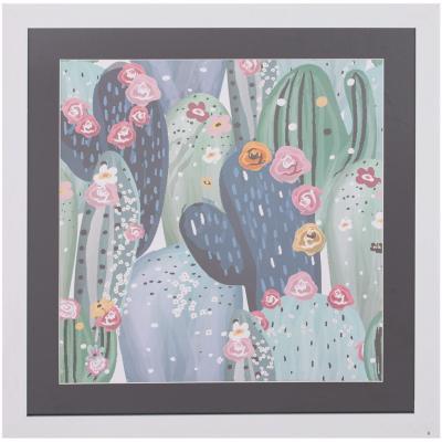 Cuadro cactus 50x50 cm