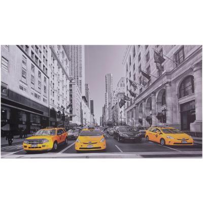 Canvas 3 taxis 40x70 cm