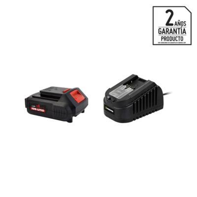 Kit batería recargable 2 Ah + cargador 18V