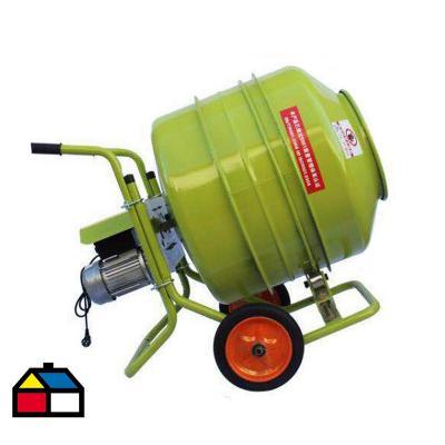 Trompo betonera 350 lts 3,5 hp, 220v