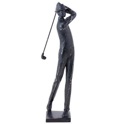 Hombre Jugando Golf Lanzando 40 cm