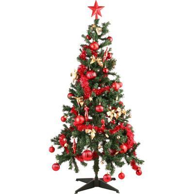 Árbol promo 150 cm 360 ramas roja