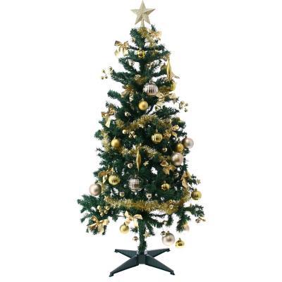 Árbol promo 150 cm 360 ramas dorado