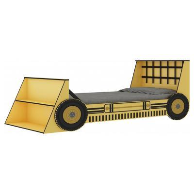 Cama infantil 94,5x224x94,5 cm amarillo