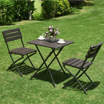Mesa Plegable con sillas 73 cm