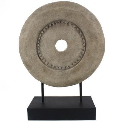 Piedra de Molino Beige en Base 47 cm