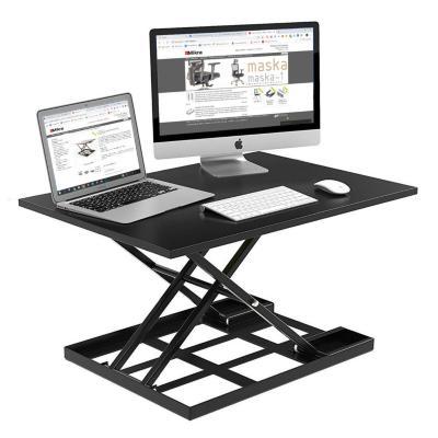 Alzador de escritorio para trabajo de pie