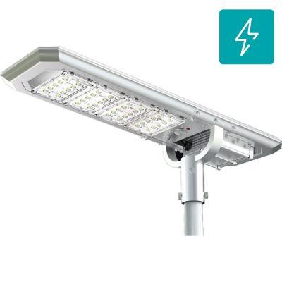 Luminaria solar led 60W 160 lm/w para poste de alumbrado
