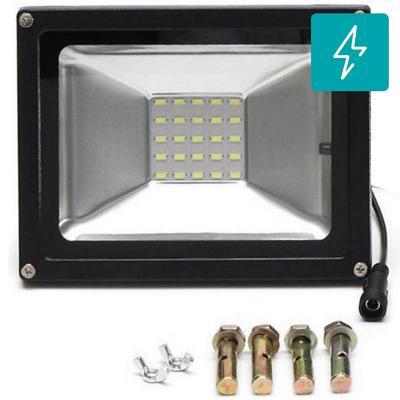 Proyector solar led 20W c/control remoto 90lm/w
