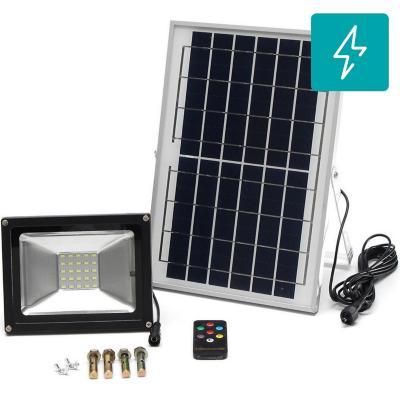 Proyector solar led 50W c/control remoto  90lm/w