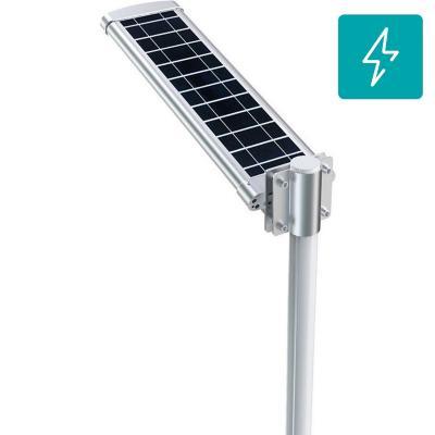 Luminaria solar led 30W 140 lm/w para poste de alumbrado