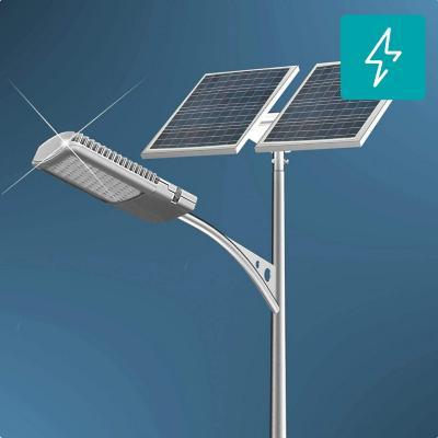 Kit poste solar 6 m 40W led 12 horas zona centro