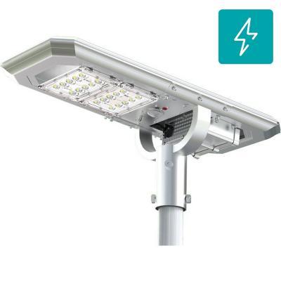 Luminaria solar led 20W 160 lm/w para poste de alumbrado
