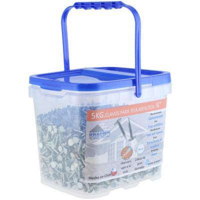Clavos teja asfáltica 3/4 5 kg