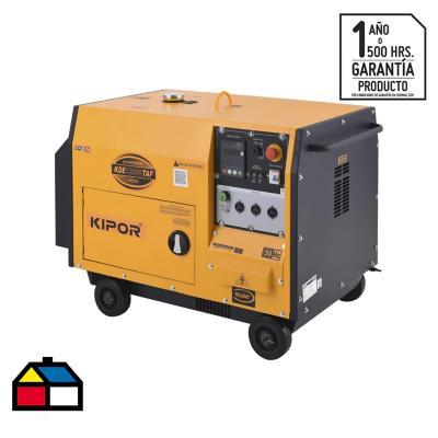 Generador eléctrico a diesel insonorizado 9500W
