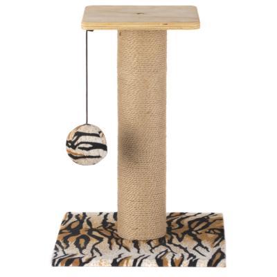 Gimnasio rascador para gato Mini Caño Animal Print