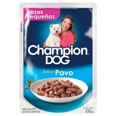 Alimento húmedo raza pequeña pavo 100 gr