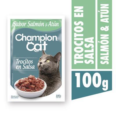 Alimento húmedo atún y salmón 100 gr