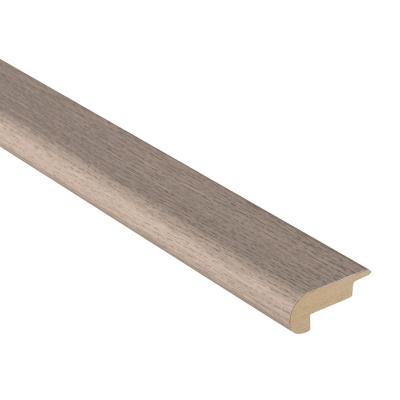 Pack canto peldaño MDF gris ceniza 20x48 mm x 2,40 m - 2 unidades