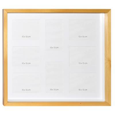 Marco madera box natural 40x50 cm
