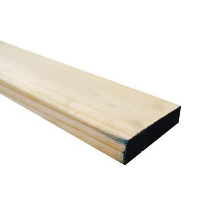 Viga estructural de pino Radiata 2 x 8 x 4 m