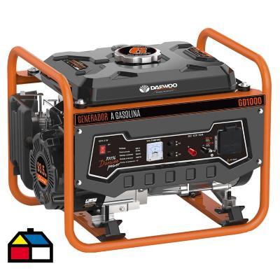 Generador eléctrico a gasolina 1000W