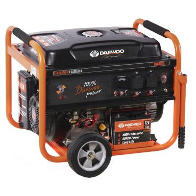 Generador eléctrico a gasolina 5500W