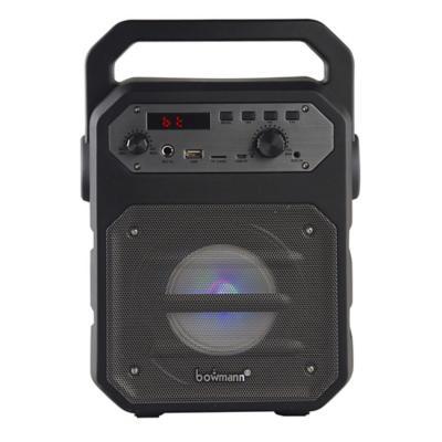 Parlante portátil karaoke bluetooth + micrófono