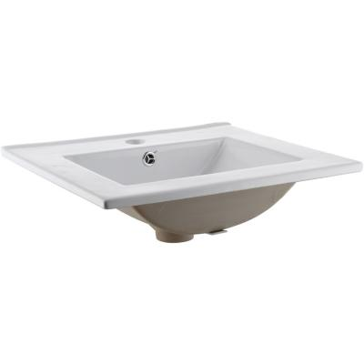 Lavamanos de sobre poner 16x40x50 cm blanco