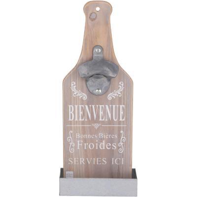 Destapador forma botella 11x5x30 cm