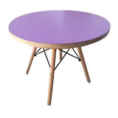 Mesas eames niño lila