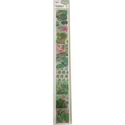 Huincha Tropical 5,5x46 cm set 6 nidades