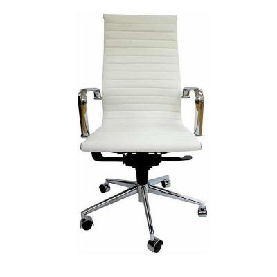 Silla pc bishop respaldo alto 110x47x61 cm blanco