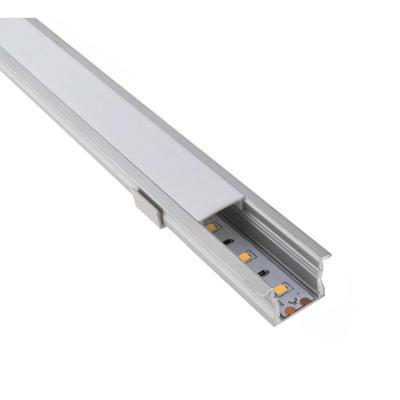 Perfil de aluminio para cinta led 2,3 x 1,5 cm