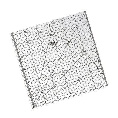 Regla Acrílica Transparente de 30 x 30cm