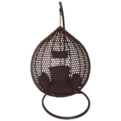 Silla colgante rattan 195x105x75cm