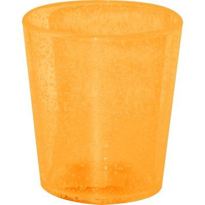 Vaso burbujas naranjo