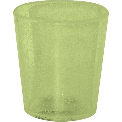 Vaso burbujas verde