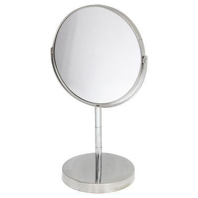Espejo pedestal acero inoxidable 15 cm