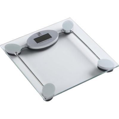 Pesa de baño digital transparente