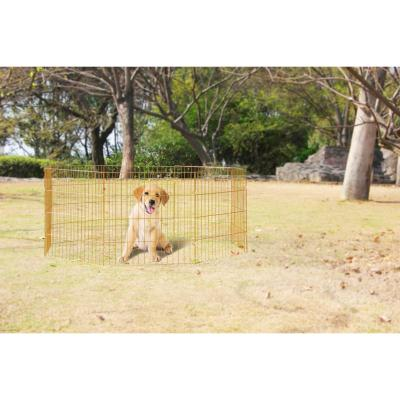 Corral large  8 paneles 91x60 cm perro