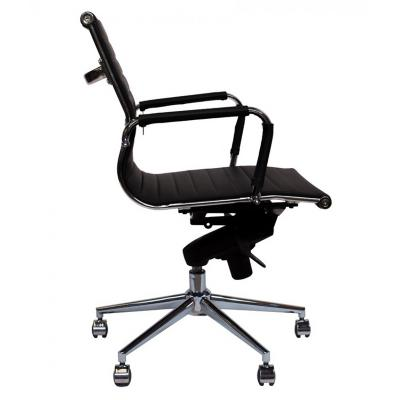 Silla PC Clásica Bishop 97x61x47 cm Negro