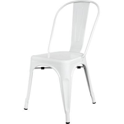 Silla metal 39x36x86 cm blanco