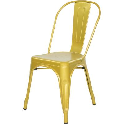 Silla metal 39x36x86 cm dorado