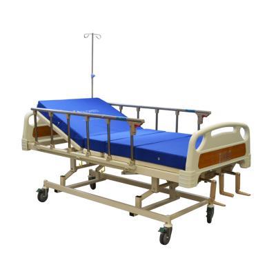 Catre clínico manual 3 posiciones + colchón