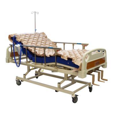 Catre clínico manual 3 posiciones + colchón + anti escaras